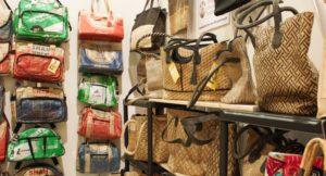 Taschen aus Zementsäcken