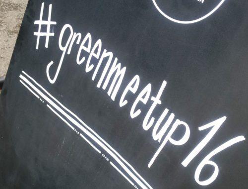 Green Blogger Meet Up - nachhaltig Bloggen