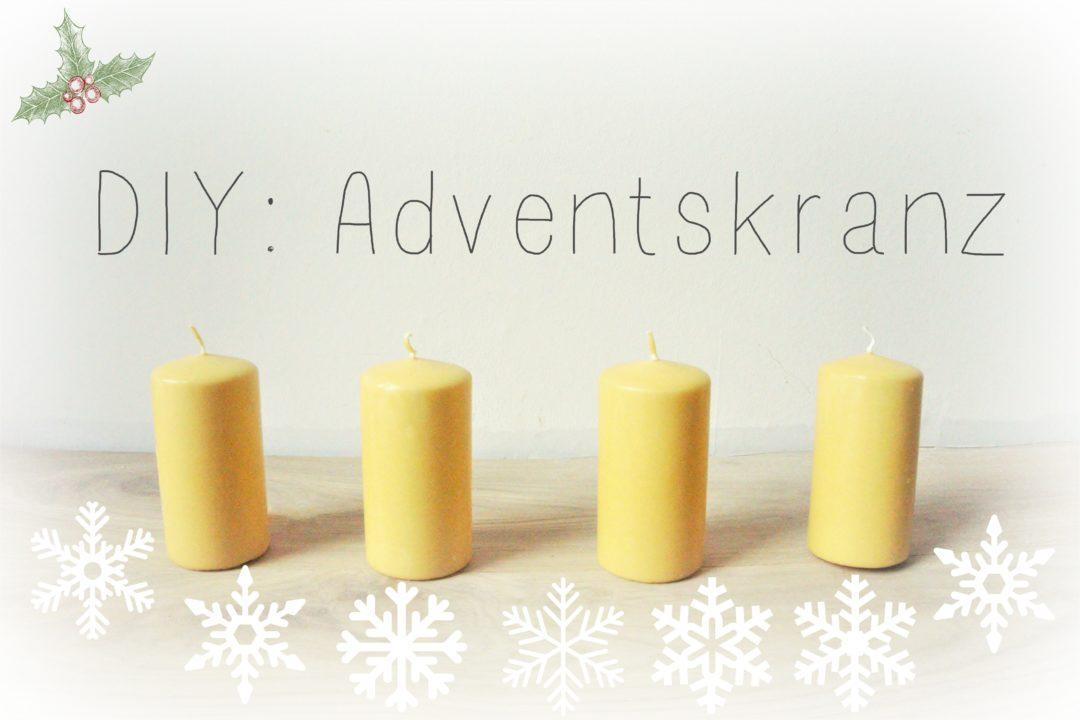 Adventskranz, nachhaltig, Kerzen, Advent, Weihnachten